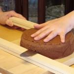 ケーキカット中