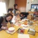 ケーキ作成