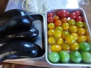ナスとトマトのオーベルジーヌ②