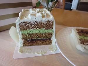抹茶のケーキ②