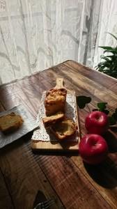 林檎のパウンドケーキ②