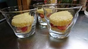 苺のショートケーキ④