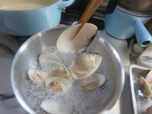 クラムのチーズ焼き③