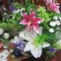 仏さまのお迎えの花達