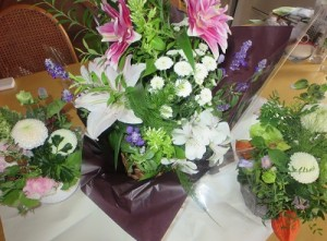 お盆の花①