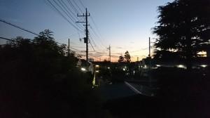 Nov.5 夕焼け⑤